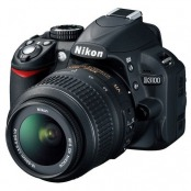 DSLR Nikon D3100, Black 18-55mm VR, D3100