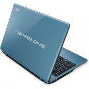 Netbook Acer Aspire AO725-C6 AMD Dual-Core C60 1.0GHz, 2GB, 320GB, AMD Radeon HD 6290, Linux, Blue, AO725-C6Cbb